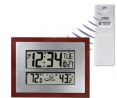 Better Homes and Gardens Atomic Clock with Forecast (Bronze)