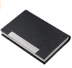 Business Card Holder, Business Card Case Luxury PU Leather & Stainless Steel Multi Card Case,Busines