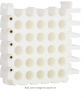 Cable Comb Tool 25-Hole Cable Dresser, Bundler and Organizing Tool for Data Center, Server Rooms and