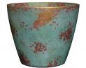 Classic Home and Garden 807-378R Vogue Planter, Patina Copper