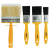 Coral Essentials Paint Brushes with Block - 4 Piece Set
