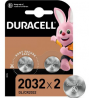 Duracell 2032 Lithium Coin Battery (CR2032) - Pack of 2