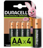 Duracell Rechargeable AA 1300mAh Batteries - Pack of 4