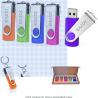 EAZOR 32GB USB 2.0 Flash Drive, USB Stick Thumb Drive Rotated Design Memory Stick for PC/Laptop/Exte