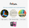 Foiset Remanufactured Ink Cartridge for HP 61 61 XL ( Black, Tri-Color ) Replacement 61xl Cartridege