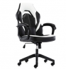 Gaming Chair Racing Office Chair, Leather High Back Home Office Task Computer Chair, Seat Height Adj