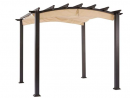 Garden Winds Replacement Canopy for The Hampton Bay Arched Pergola - Standard 350 - Beige