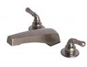 Laguna Brass 3340BZ Mobile Home Two Handle Non-Metallic Adjustable Garden Tub Filler, Brushed Bronze