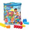 Mega Bloks First Builders Big Building Bag with Big Building Blocks, Building Toys for Toddlers (80