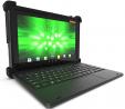 MobileDemand Flex 10A Android 9.0 Pie Rugged Touchscreen Tablet w/Keyboard   Ultra Lightweight   10.