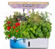 Moistenland Hydroponics Growing System,Indoor Herb Garden Starter Kit w/LED Grow Light,Plant Germina