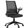 Office Chair, Shuanghu Ergonomic Home Office Desk Chair Mesh Office Chair with Armrests Lumbar Suppo