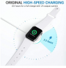 Powlaken Watch Charger, Magnetic Charging Cable Cord Compatible with Apple Watch Series Se, 6, 5, 4,