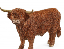 Schleich Farm World, Animal Figurine, Farm Toys for Boys and Girls 3-8 years old, Highland Bull