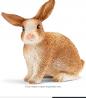 SCHLEICH Farm World Rabbit Educational Figurine for Kids Ages 3-9
