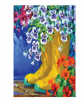 Toland Home Garden 119994 Boots and Blossoms 12.5 x 18 Inch Decorative, Garden Flag-12.5