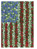 Toland Home Garden Field of Glory 28 x 40 Inch Decorative Floral America Patriotic Flower Summer Hou