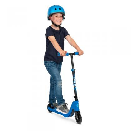 Aero C1 Blue Inline Scooter with Light Up LED Wheels