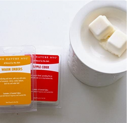 All Natural Soy Wax Melts, (3 Pack), Bayberry Scented, Non-Toxic, 18 Cubes, For use in Tea Light or Flameless Plug In Electric Fragrance Warmers for T