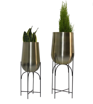 China indoor plant stand Ferruginous Nordic style Flower Pots & Planters Home decoration