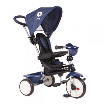 Q Play Comfort 4-in-1 Trike Dark Blue