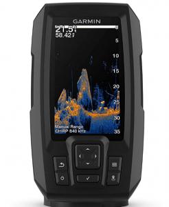 Garmin Striker Vivid 4cv, Easy-to-Use 4-inch Color Fishfinder and Sonar Transducer, Vivid Scanning S