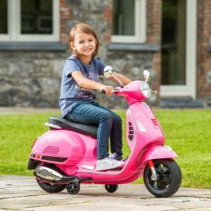 6V Vespa Pink Electric Ride On