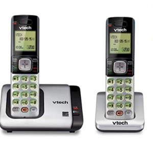 AT&T BL102-2 DECT 6.0 2-Handset Cordless Phone for Home with Answering Machine, Call Blocking, Calle