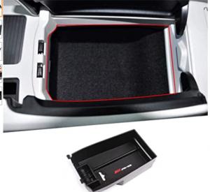 Autobro for Mercedes-Benz C Class W204 C180 C200 C260 C300 2008-2013, ABS Plastic Central Armrest St