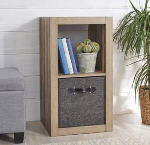 Better Homes and Gardens 2-Cube Organizer (Weathered)