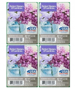 Better Homes and Gardens French Lilac Flowers Scented Wax Cubes - 4-Pack