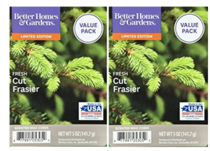 Better Homes and Gardens Fresh Cut Frasier Scented Wax Cubes 5oz - 2-Pack