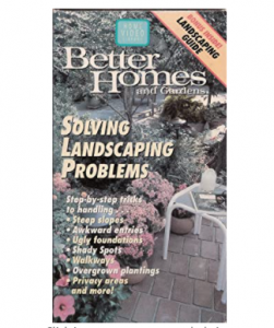 Better Homes and Gardens: Solving Landscape Problems (Includes Best Bets At the Nursery Booklet)