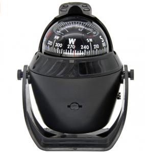 Boat Compass,Dashboard Marine Navigation Compass with LED Light Night Lighting Surface Mount Electro