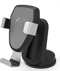 Bracketron BT2-952-2 PwrUp Gravity 10W Qi Certified Fast Wireless Charging Mount
