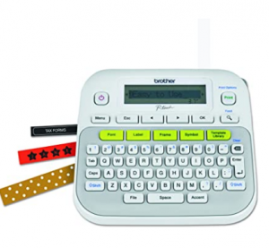 Brother P-Touch, PTD210, Easy-to-Use Label Maker, One-Touch Keys, Multiple Font Styles, 27 User-Frie