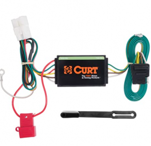 CURT 56040 Vehicle-Side Custom 4-Pin Trailer Wiring Harness, Select Subaru Ascent, Forester, Outback