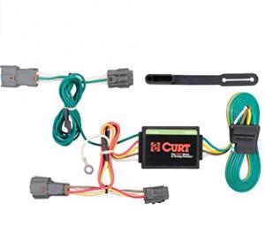 CURT 56222 Vehicle-Side Custom 4-Pin Trailer Wiring Harness, Select Kia Rondo, Soul