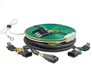 CURT 58929 Custom Towed-Vehicle RV Wiring Harness for Dinghy Towing, Select Chevrolet Cobalt, HHR, P