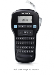 DYMO Label Maker LabelManager 160 Portable Label Maker, Easy-to-Use, One-Touch Smart Keys, QWERTY Ke