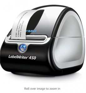 DYMO Label Printer   LabelWriter 450 Direct Thermal Label Printer, Great for Labeling, Filing, Maili