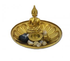 Hotsell japanese home buddha figurine zen garden kit