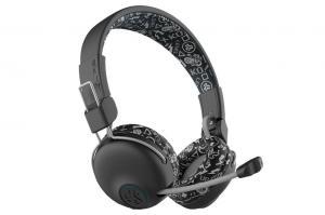 JLab JBuddies Play Gaming On-Ear Wireless Kids Headphones | Black GHBJPLAYRBLKGRY