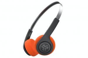 JLab Rewind Retro On-Ear Wireless Headphones | Black