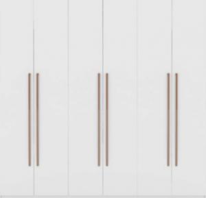 Manhattan Comfort Gramercy Contemporary Modern Freestanding Wardrobe Armoire Closet, 82.48