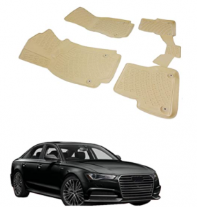 OMAC Waterproof Complete Set Custom Fit Liner | All Weather Performance 3D Molded Tan Rubber Floor M