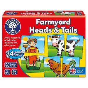 Orchard Toys Farmyard Heads and Tails Card Game