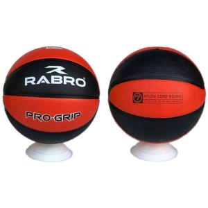 Pro-Grip Basketball Red and Black Size 7