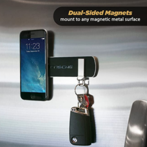 SCOSCHE MEBSR MagicMount Elite Double-Sided Adhesive Magnetic Bar Mount for Mobile Devices, Silver