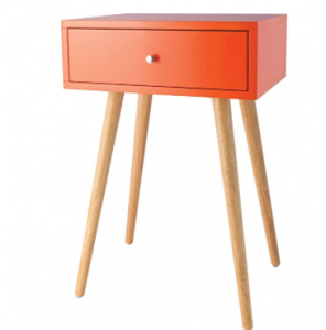Sterling Home Astro accent table, Orange